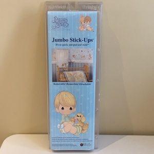 The Precious Moments Baby Jumbo Wall Stickers NEW